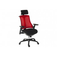 Amity Executive Mesh Back Chair (Red)