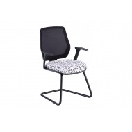 Comet Mesh Back Cantilever Meeting Chair