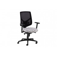 Comet High Mesh Back Operator Chair 2D Arms