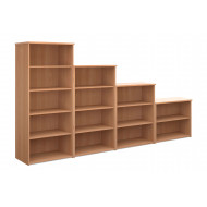 Thrifty Next-Day Bookcases Beech