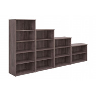 Thrifty Next-Day Bookcases Grey Oak
