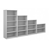 Thrifty Next-Day Bookcases White