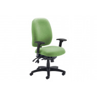 Iton High Back Operator Chair With Height Adjustable Arms
