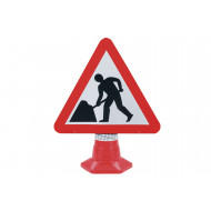 Men At Work Traffic Sign For Traffic Cones