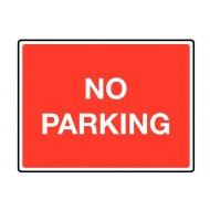 No Parking Class 1 Reflective Traffic Sign