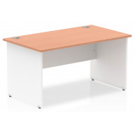Vitali Duo Panel End Rectangular Desk