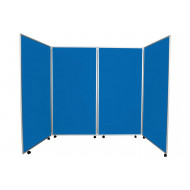 Una 4 Panel Mobile Jumbo Display Kit (Aluminium Frame)