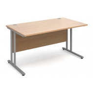 Next-Day Value Line Deluxe C-Leg Rectangular Desk