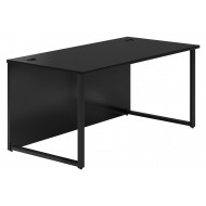 Raven Hooped Leg Rectangular Desk
