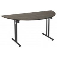 Raven Semi Circular Folding Table (Denver Oak)