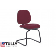 Tully Fabric Visitor Chair (No Arms)
