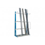 Single Sided Vertical Storage Rack