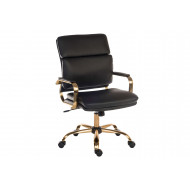 Cedric Faux Leather Vintage Executive Chair