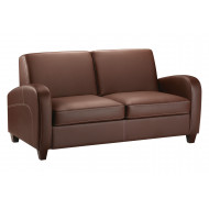 Donovan Faux Leather Sofa Bed