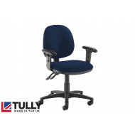 Tully Medium Back Operator Chair (Adjustable Arms)