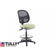 Tully Mesh Back Draughtsman Chair (No Arms)