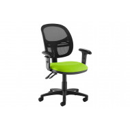 Vantage Medium Mesh Back Operator Chair (Adjustable Arms)