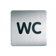 Wc Square Picto Door Sign