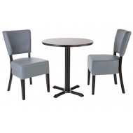 Calexico 3 Piece Round Dining Set