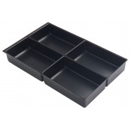Bisley 4 Section Tray Insert