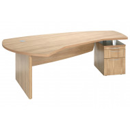 Canning Executive Desk With Pedestal