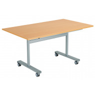 Pivot Rectangular Flip Top Table