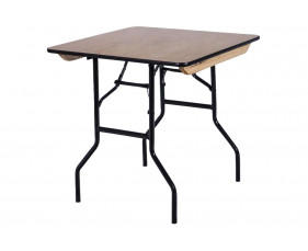 Suttner Square Folding Trestle Table