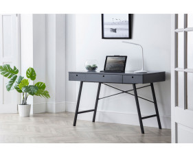 Milman Home Office Desk (Grey)