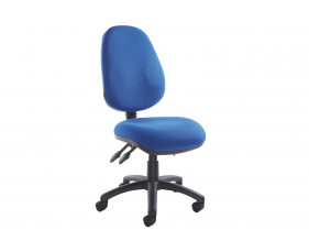 Full Lumbar 3 Lever Operator Chair No Arms