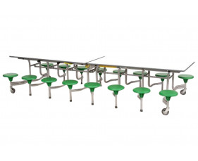 Sico Rectangular Table Seating Unit With 16 Seats