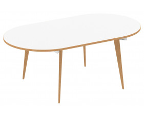 Vanara Radial End Boardroom Table