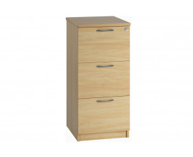 Lozano 3 Drawer Filing Cabinet (Oak)