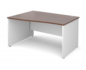 Next-Day Duo Left Hand Wave Desk