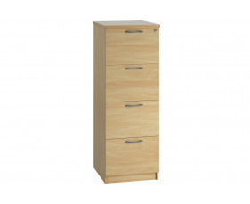 Lozano 4 Drawer Filing Cabinet (Oak)