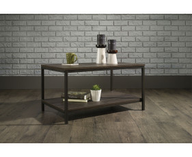 Annex Industrial Coffee Table (Smoked Oak)