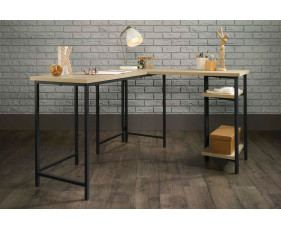 Annex Industrial L-Shaped Desk