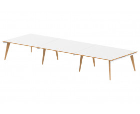 Vanara Extended Rectangular Boardroom Table