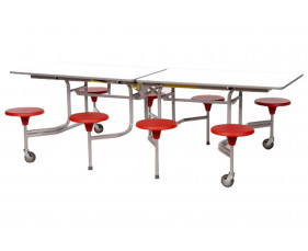 Sico Rectangular Table Seating Unit With 8 Seats