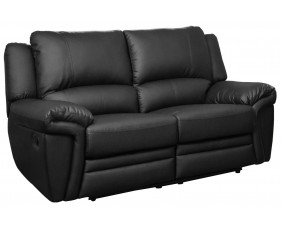 Clavet Leather 2 Seater Recliner Sofa