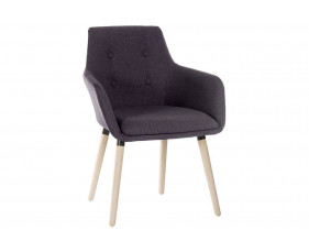 Pack Of 2 Puglia Breakout Chairs (Graphite)