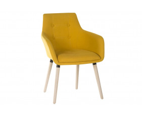 Pack Of 2 Puglia Breakout Chairs (Yellow)