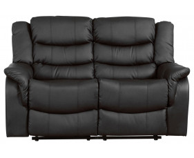 Hunter Leather 2 Seater Recliner Sofa