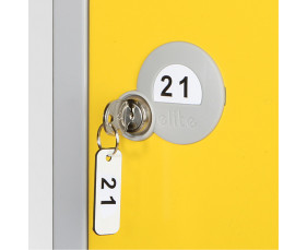 Numbered Key Fob for Elite Lockers