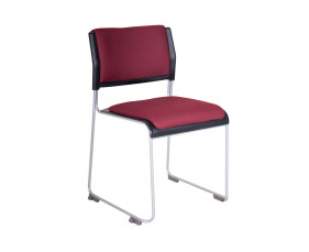 Chabas Poly Occasional Chair With Seat & Back Pad