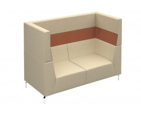 Plato High Two Seater Sofa