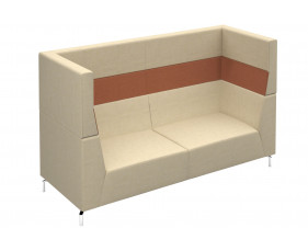 Plato High Three Seater Sofa