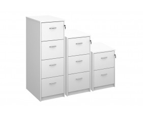 All White Premium Filing Cabinets