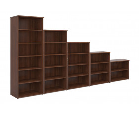 All Walnut Bookcase