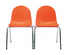 Pack Of 4 Nixon Side Chairs With Link
