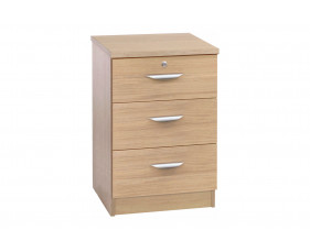 Small Office 3 Drawer CD/DVD Storage Unit